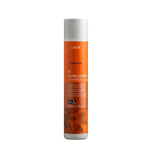 Šampon za bakreno bojanu kosu Teknia Ultra Copper Refresh - 100 ml