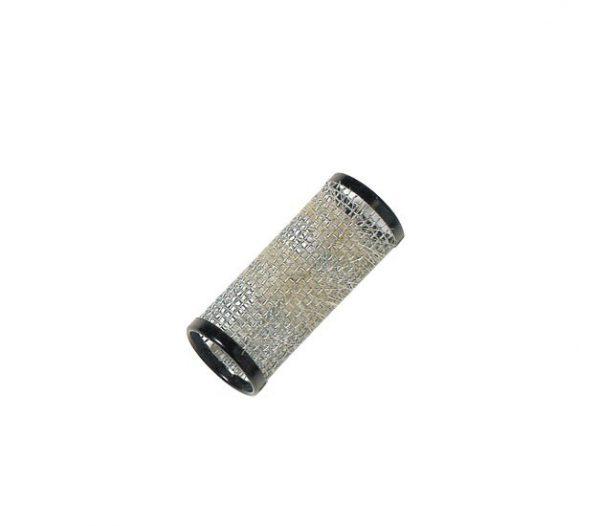 Vikler - metalni - čičak - crni - 28 mm