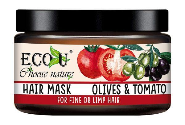 Maska za obnovu i sjaj kose ECO U paradajz 250 ml