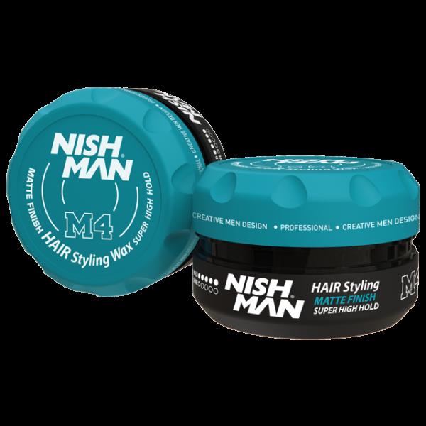 Vosak za kosu Matte Finish Glina NISHMAN 100 ml