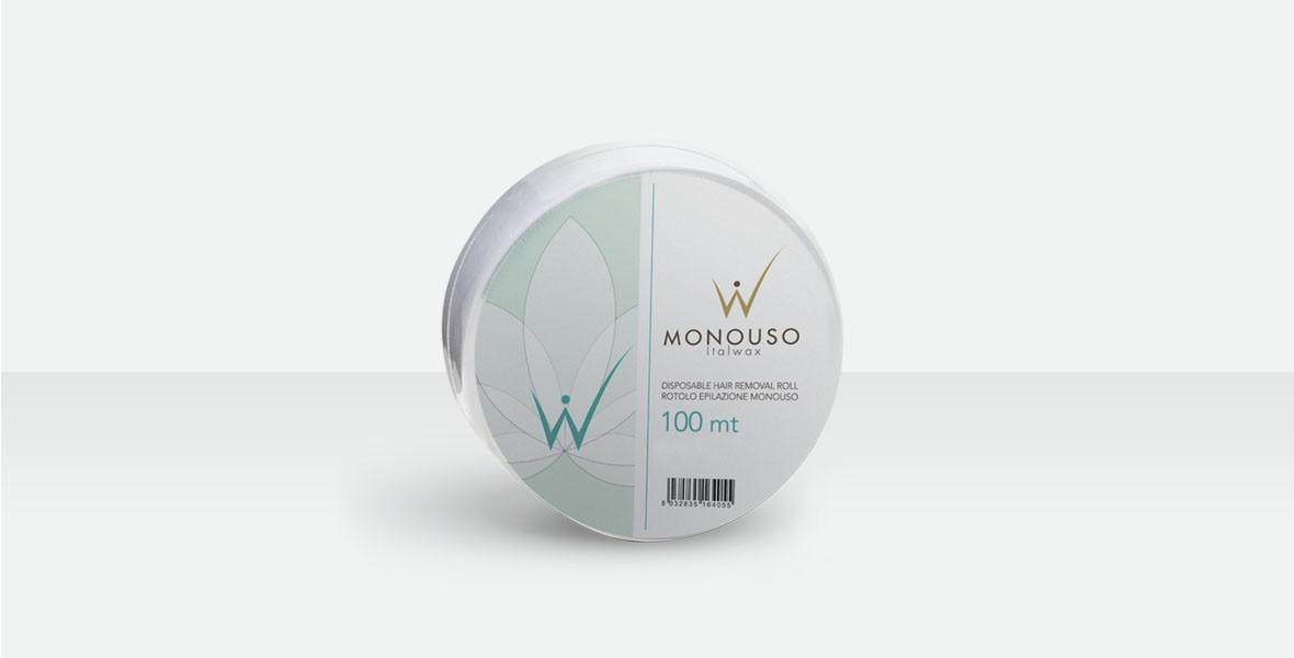Papir za depilaciju ItalWax Rolna 100 m - Bijeli