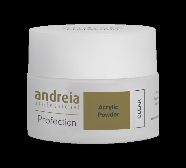 Akril prah za nadogradnju ANDREIA - Clear 35g