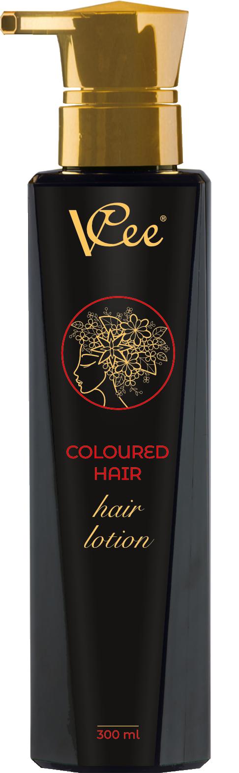 Losion za obojenu kosu 300 ml za dubinsko čišćenje obojene kose VCee