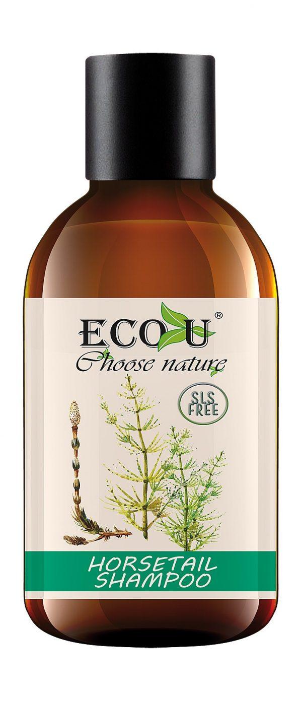 Šampon bez parabena,SLS-a i umjetnih boja ECO U - 500 ml