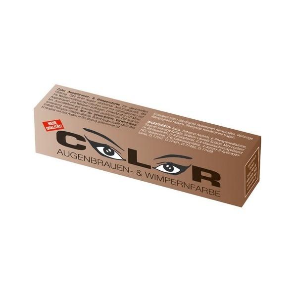 Boja za obrve i trepavice 15 ml Color Comair - Prirodno smeđa