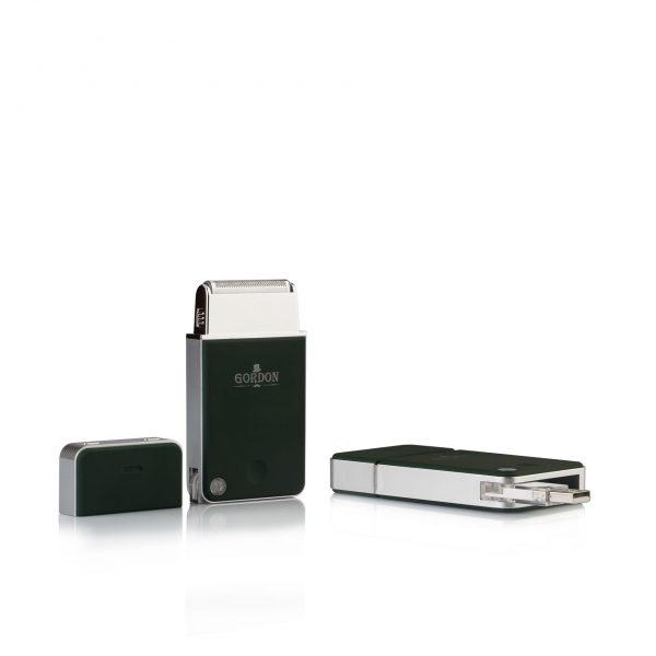 Aparat za brijanje Gordon USB Travel Shawer Green